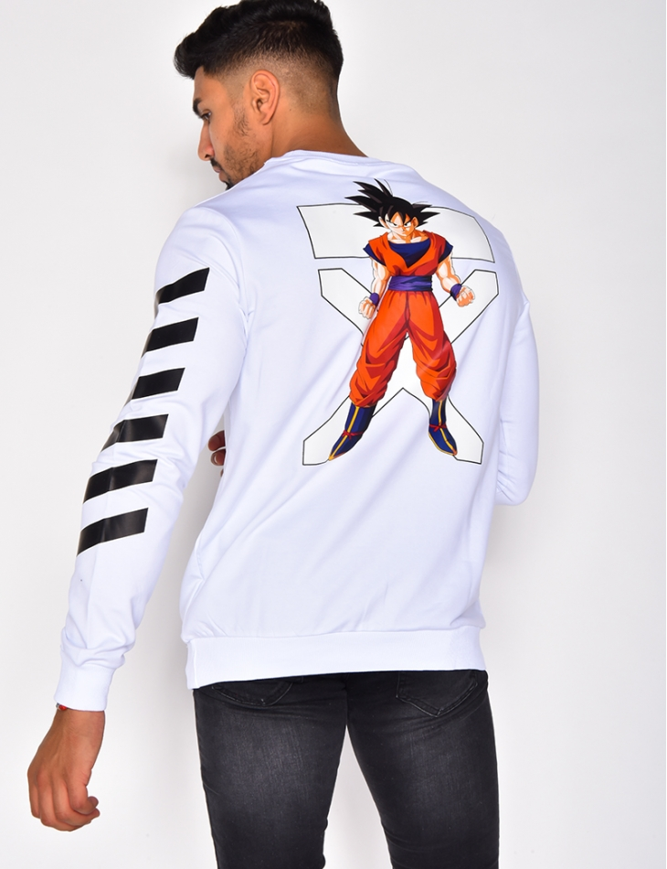 Sweat col rond Goku