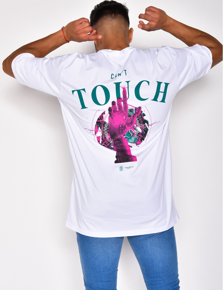 "T-shirt ""Can't Touch"""
