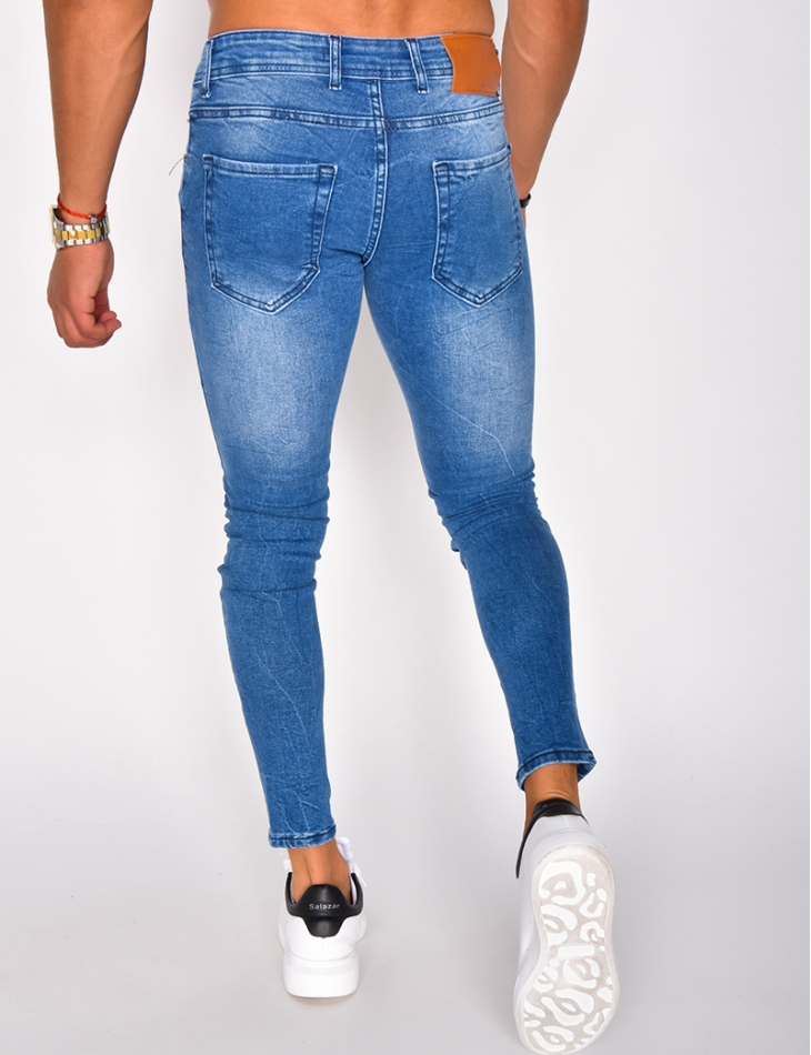 Jeans bleu foncé basic