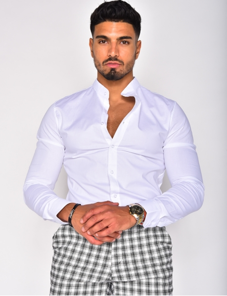 Chemise col rond