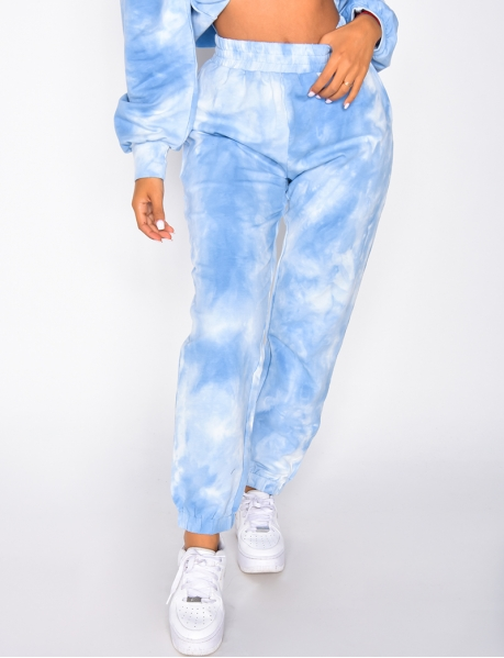 Pantalon de jogging tie and dye
