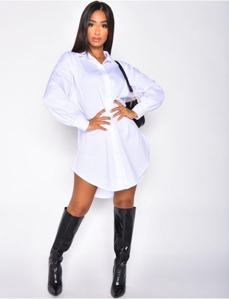 Robe chemise basic
