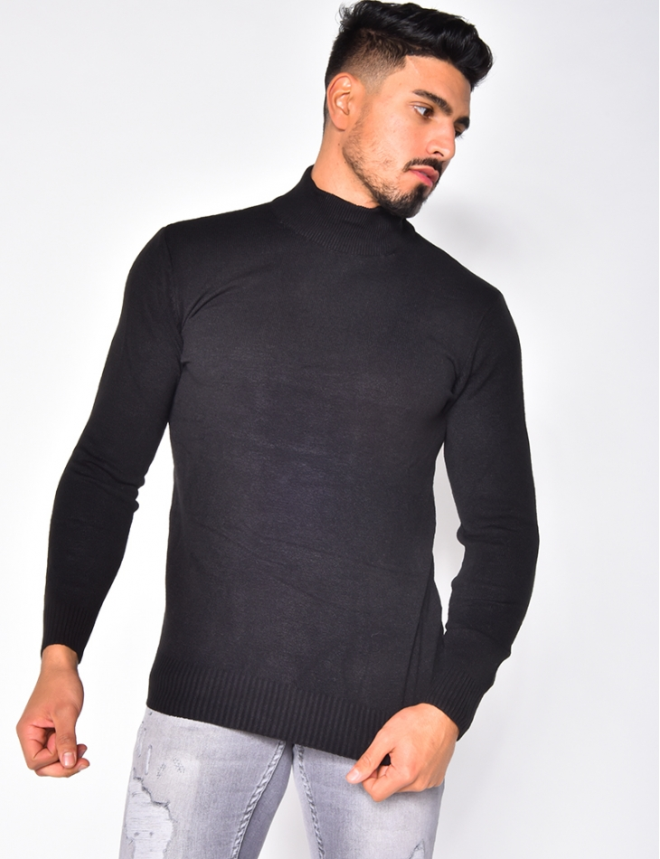 Pull col montant