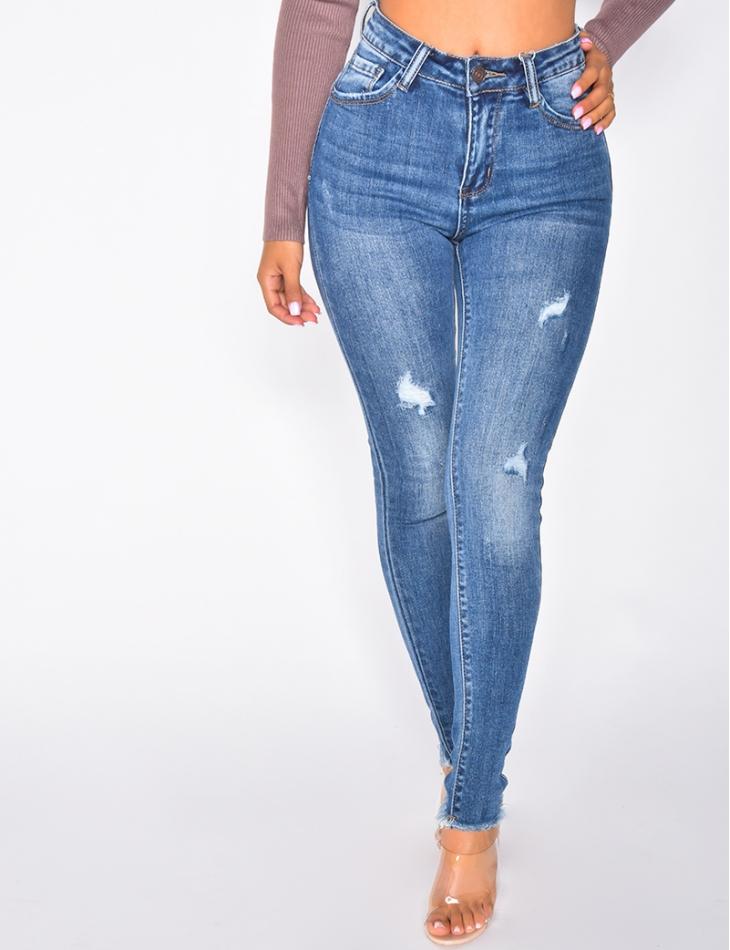 Jeans destroy push up