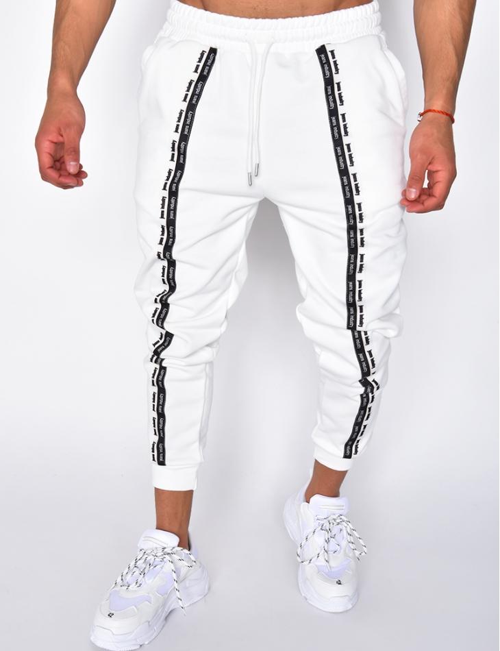 "Jogging à bandes ""Jeans Industry"""