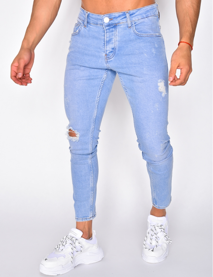 Light Ripped Jeans