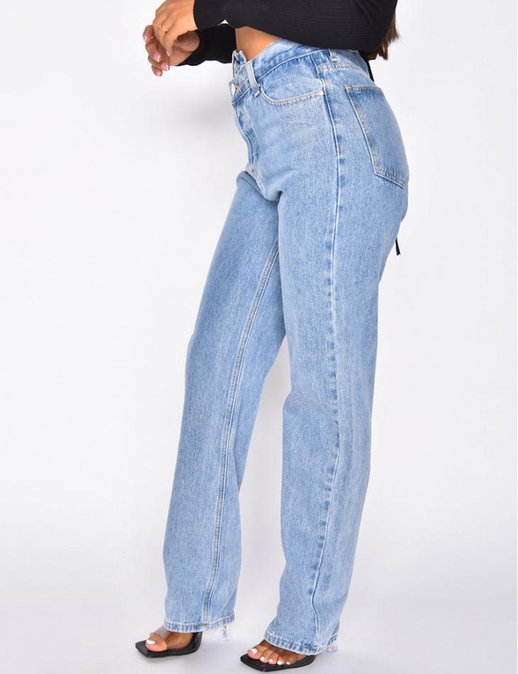 Jeans coupe droite