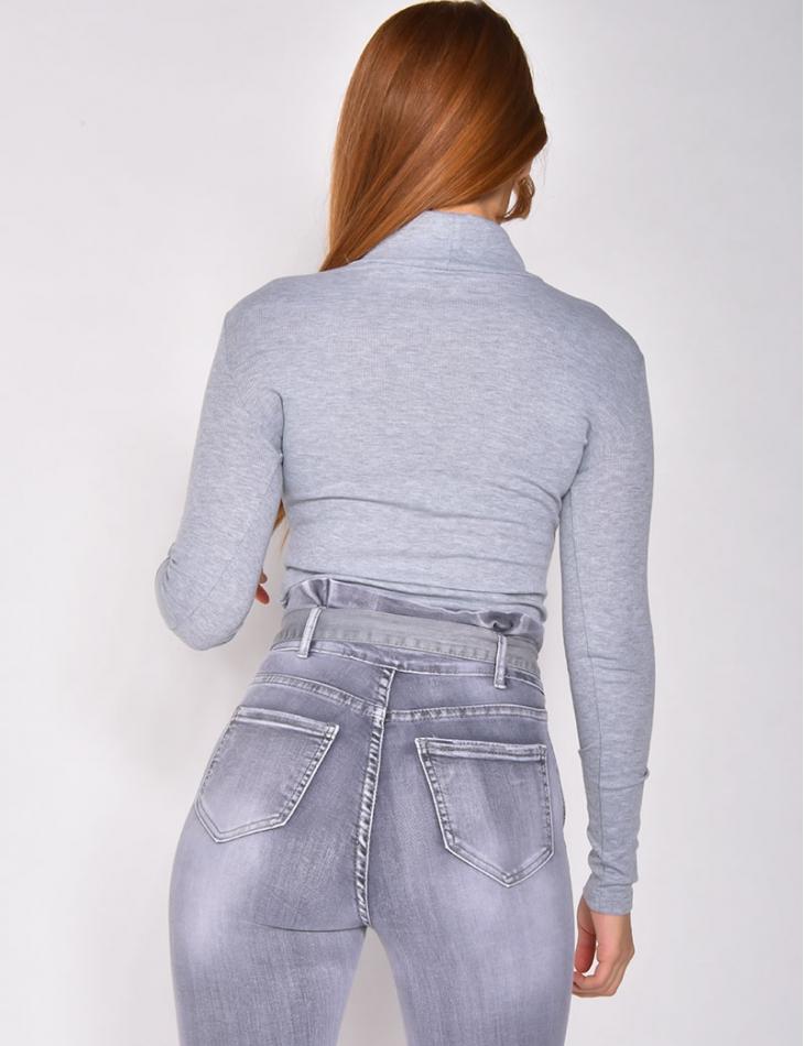 """Body côtelé """"Jeans Industry"""""""