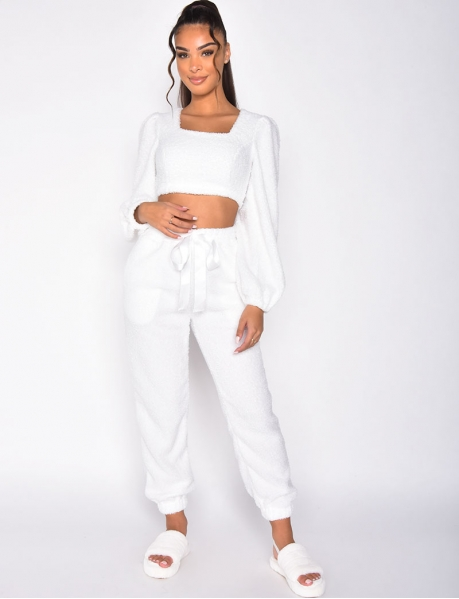 Super Soft Short Jumper and Trousers Co-ord