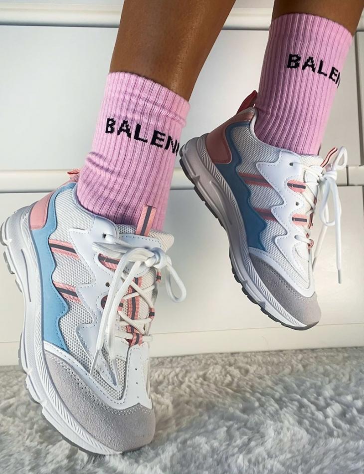 Baskets tricolore