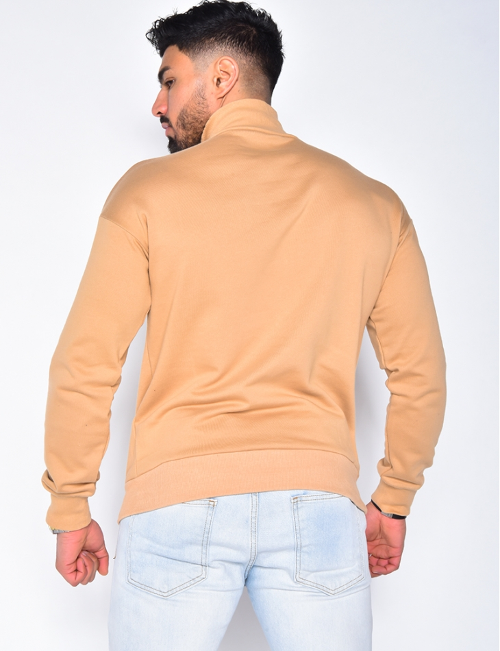 Pull col montant à zip