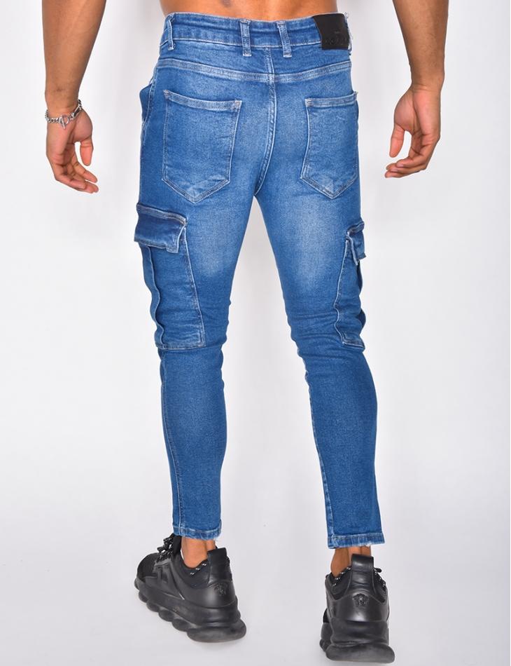 Jeans à poches