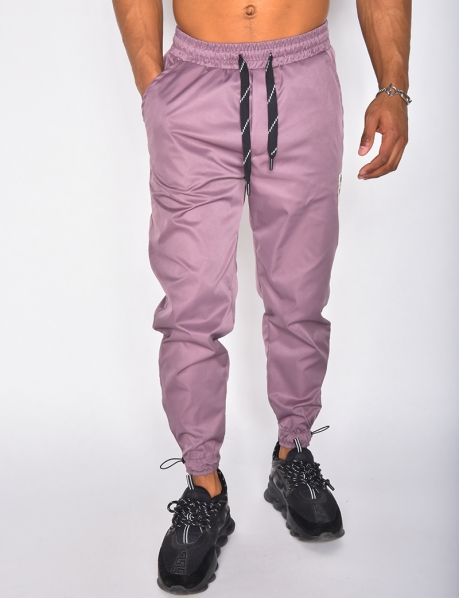 Pantalon jogger à patch