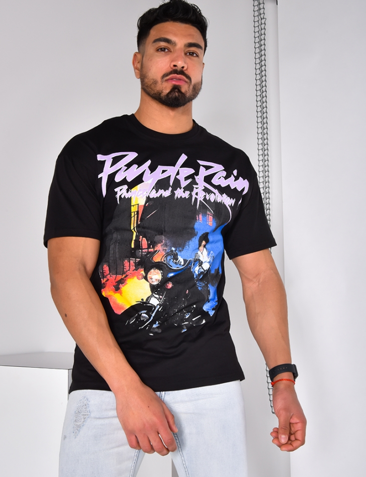 "T-shirt ""Purple Pain"""