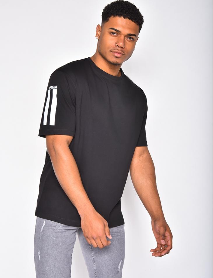 T-shirt avec patch dans le dos