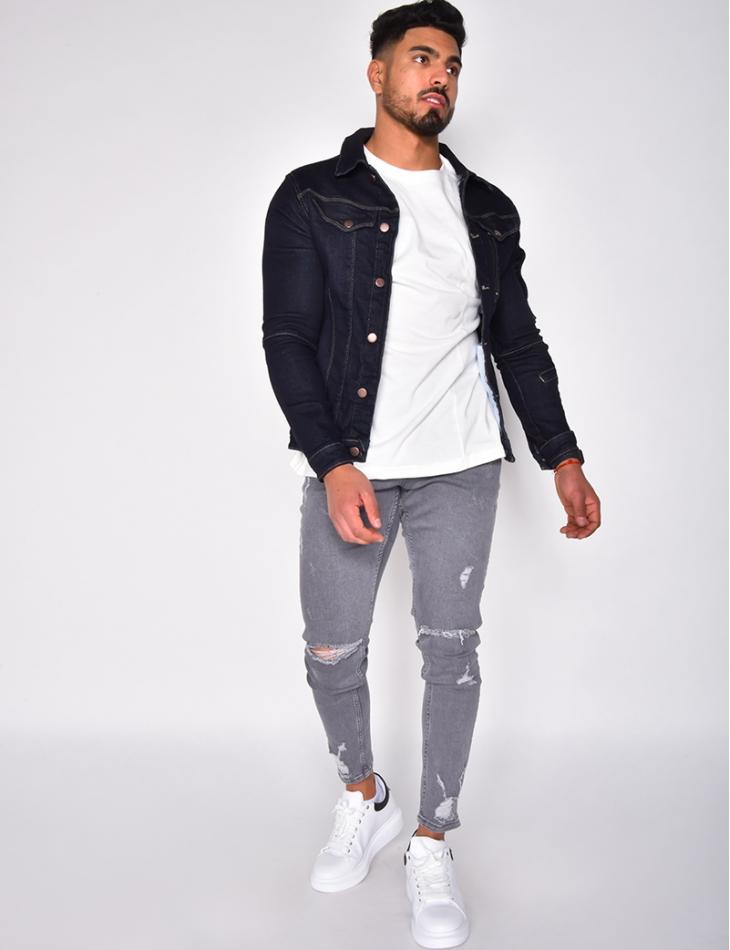 Veste en jeans classique