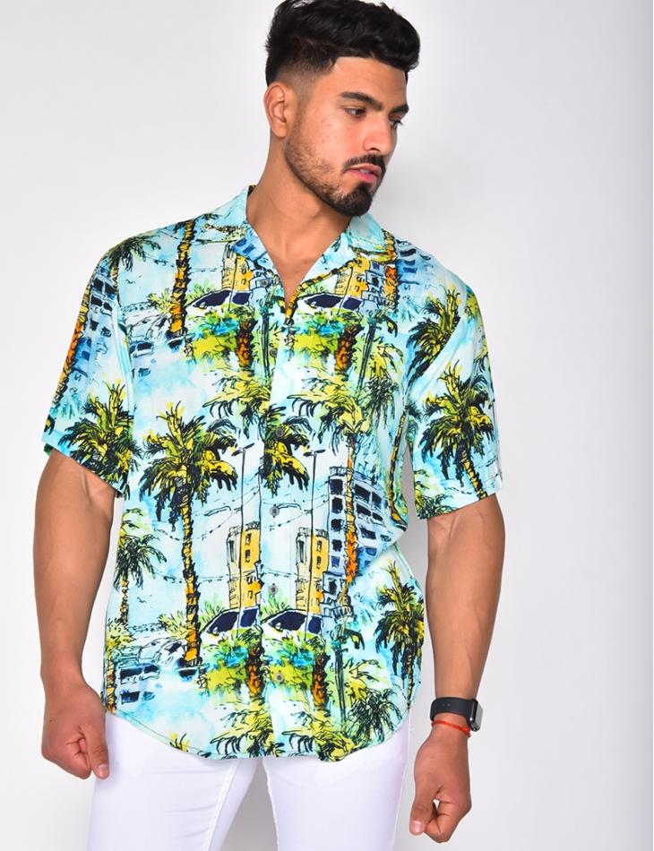 Chemise à motifs