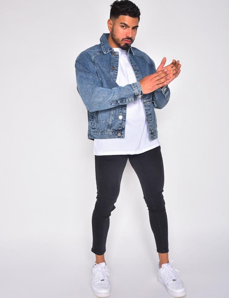 Veste en jeans oversize