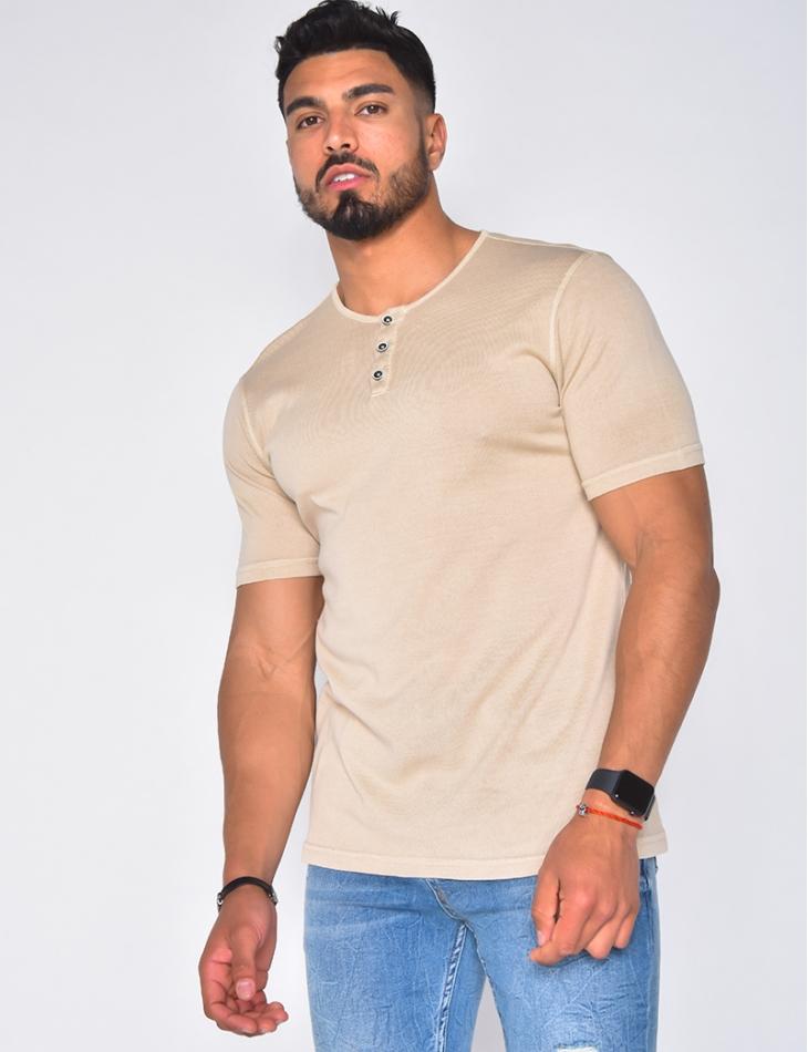 T-shirt à fine maille