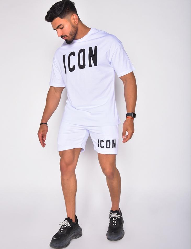 """Ensemble short et t-shirt """"Icon"""""""