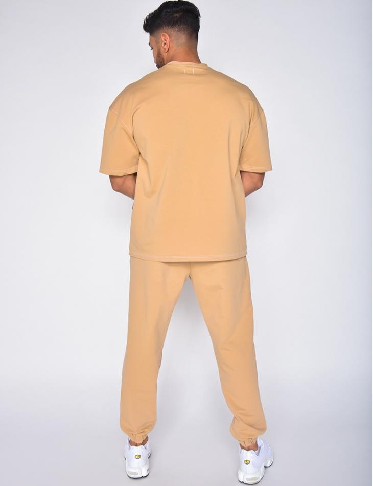 Ensemble jogging et T-shirt Tie and Dye