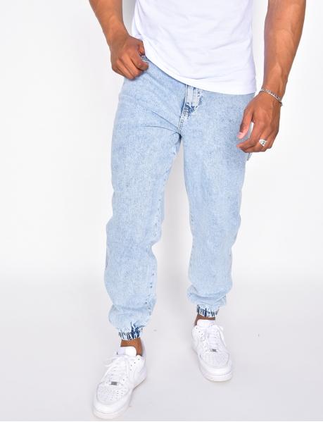 Cargo-Jeans mit Tasche