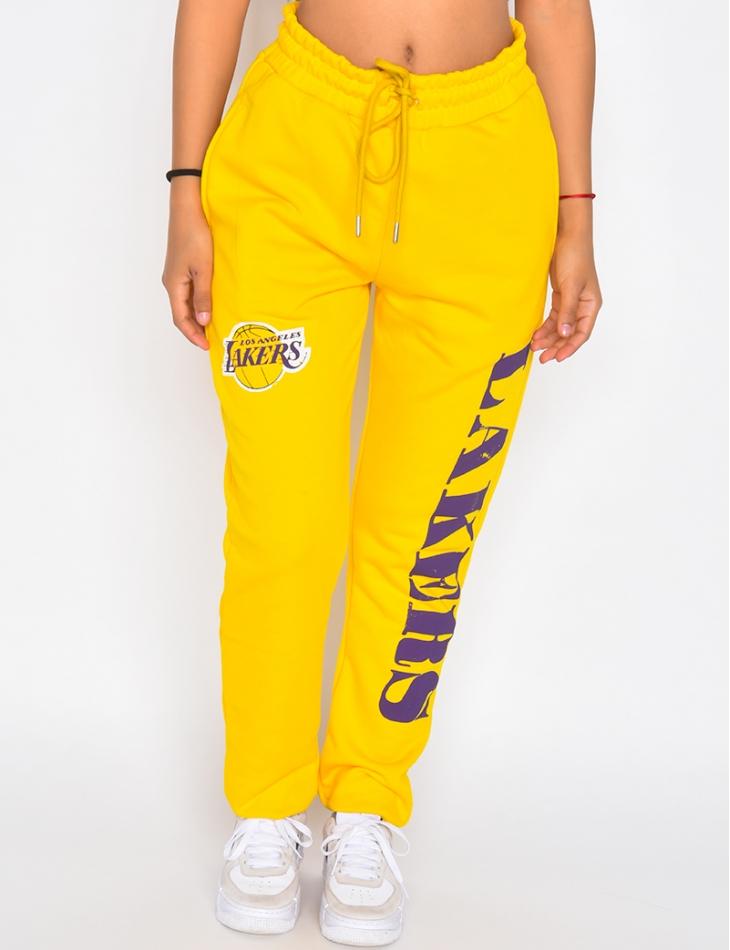"Pantalon de jogging molletoné ""Lakers"""