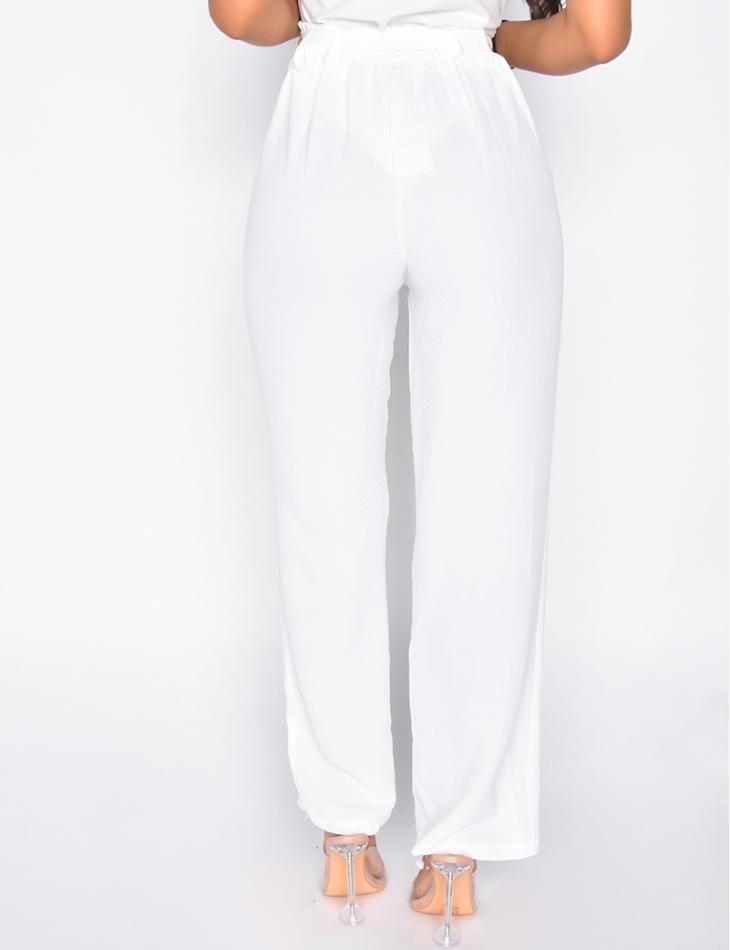 Pantalon fluide à nouer