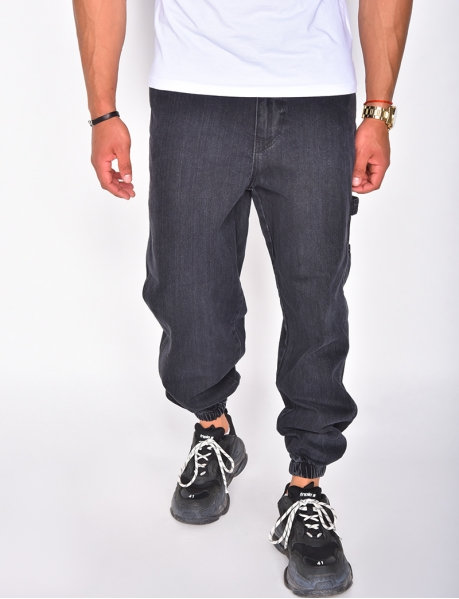 Jeans cargo à poche