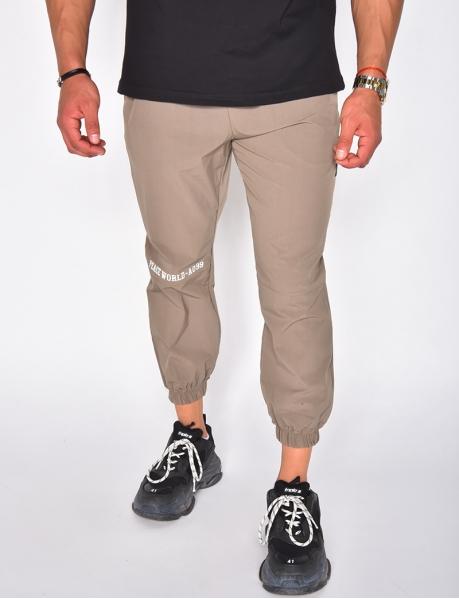 Pantalon cargo très fin