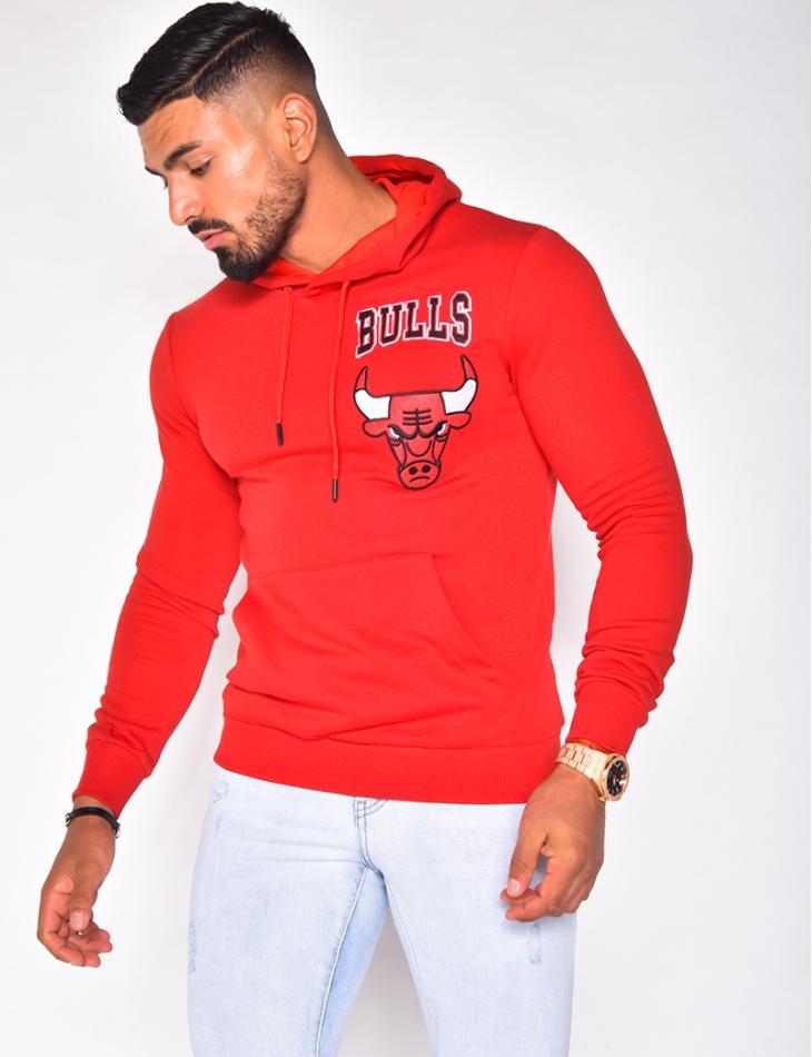 """Sweat à capuche """"Bulls"""""""