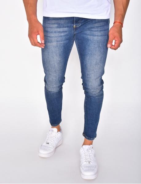 Jeans homme basic délavé