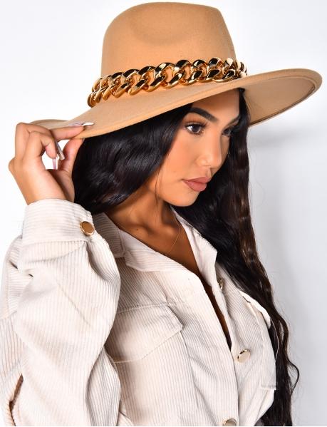 Chapeau à mailles